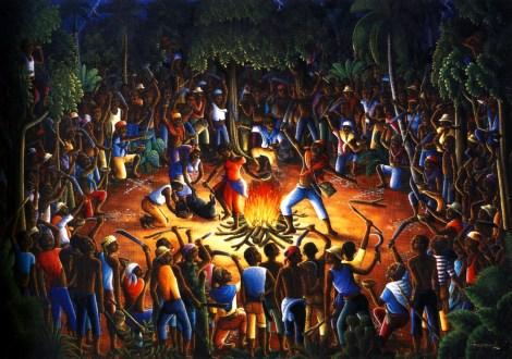 1990  Andre Normil  Ceremonie du Bois-Caiman